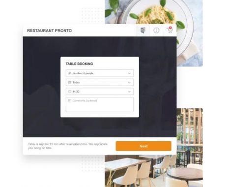 Restaurant ordering system 9